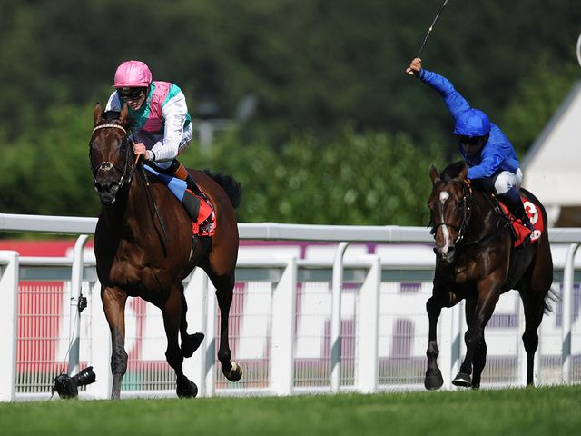Kingman is clear of Music Theory in the Solario Stakes