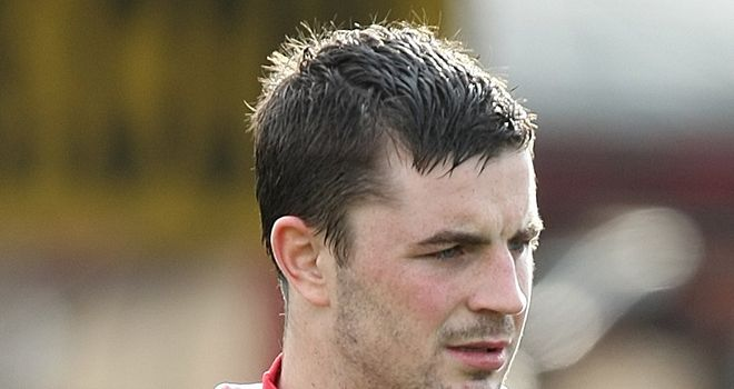 Padraig Amond: Scored his first for the Shrimps