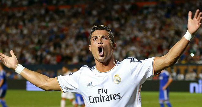 Cristiano Ronaldo: Deadly double helped Real to pre-season silverware