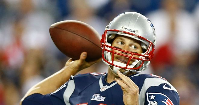Tom Brady: Put under pressure by Detroit