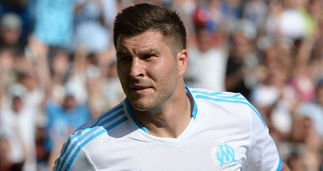Andre-Pierre Gignac: Scored the winner for Marseille