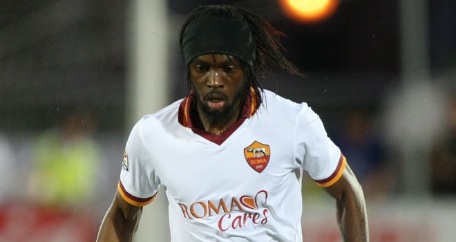 Gervinho: Grabbed his first Roma goal