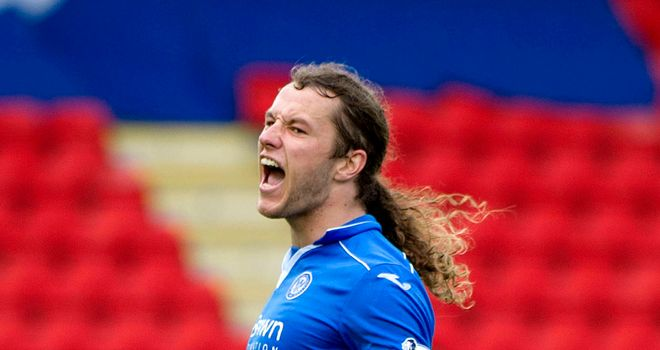 Stevie May: Set to line up against old club on Tuesday night