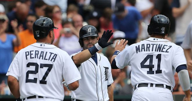 Alex Avila: two-run shot in Detroit Tigers' latest win