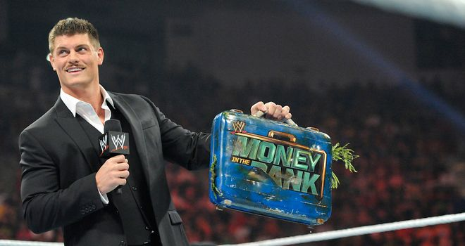 Rhodes: sacked by Triple H in Iowa