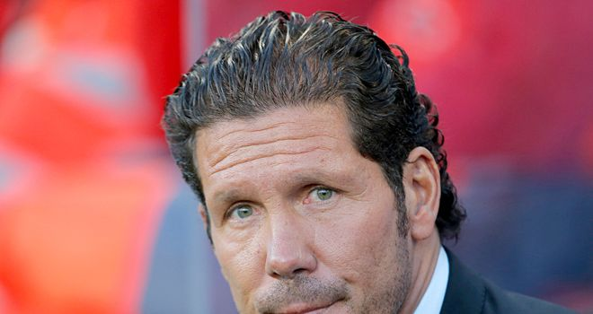 Diego Simeone: In happy mood ahead of Almeria match