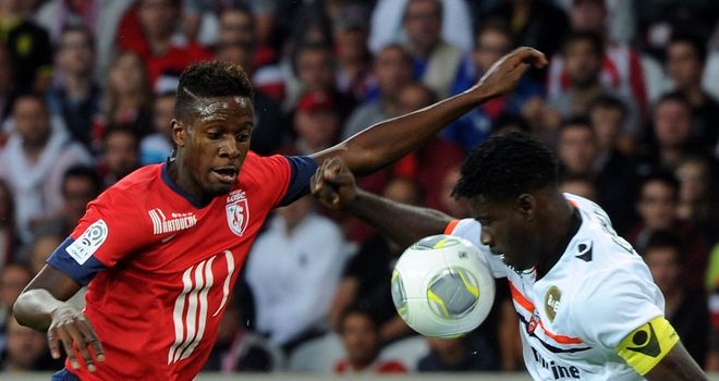 Divock Origi (left) won the game for Lille