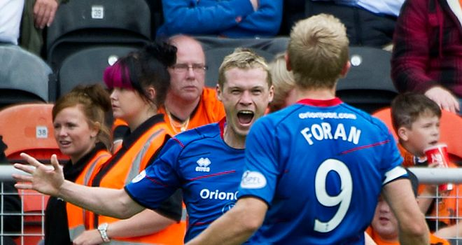 Billy McKay: Netted a brace for Inverness