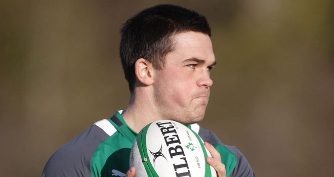 Eoin O'Malley: Played for Ireland at 'A' level