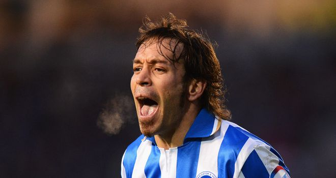 Inigo Calderon: Helped Brighton to victory
