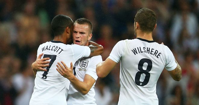 Tom Cleverley and Jack Wilshere are central to Roy Hodgson's England plans in the future