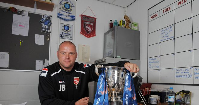 Jim Bentley: Delighted to get Andy Parrish signed up