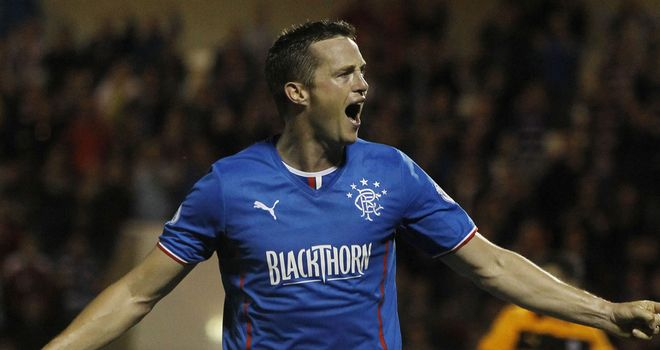 Jon Daly: Rangers' match-winner at Stenhousemuir