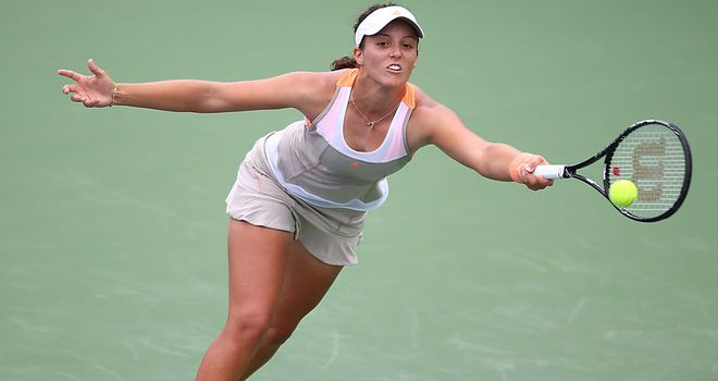Laura Robson: Opens up against Lourdes Dominguez Lino