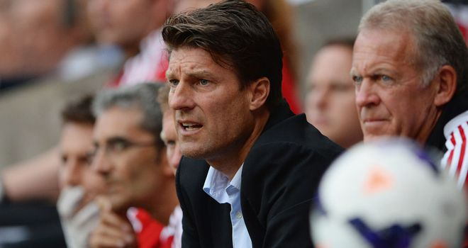 Michael Laudrup: Missed out Hearts teenager Adam King