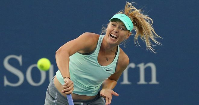 Maria Sharapova: Suffered a shock loss in Cincinnati