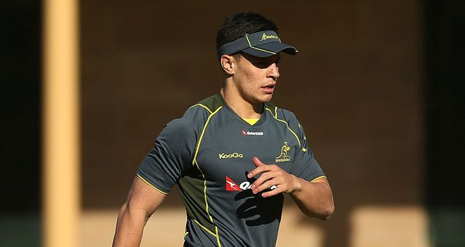 Matt Toomua: First Australia start for fly-half