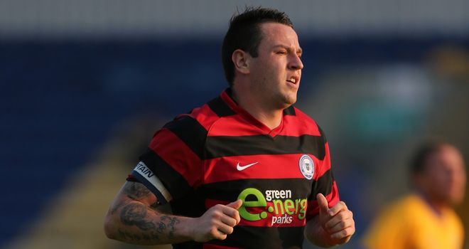 Lee Tomlin: Saw red in the second-half