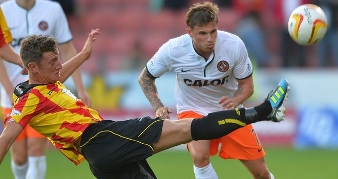 Action from Firhill as the new Scottish season gets underway on Friday