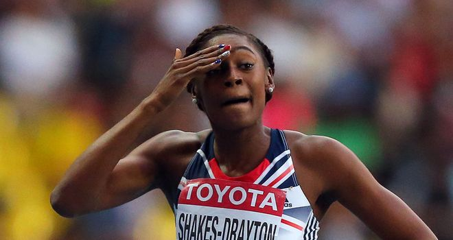 Perri Shakes-Drayton: returning home from Moscow