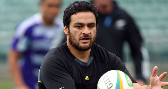 Piri Weepu during a recent training session with the All Blacks in Auckland