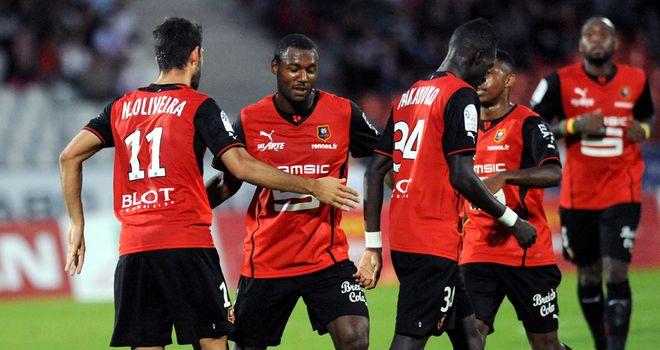 Celebrations for Rennes.