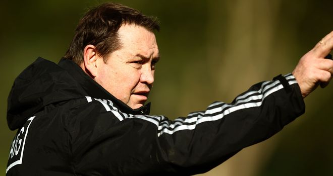 Steve Hansen: Keeping his focus on Japan game