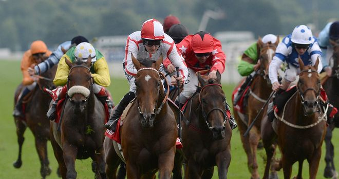 Tiger Cliff winning the Ebor