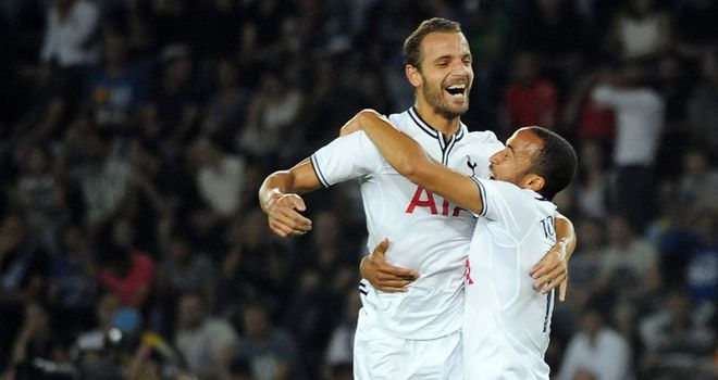 Roberto Soldado: Hit two for Tottenham