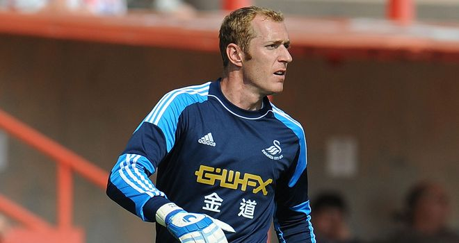Gerhard Tremmel: Kept clean sheet for Swansea