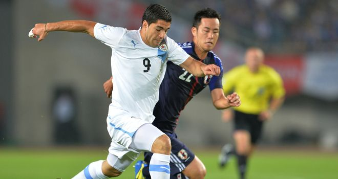 Luis Suarez: Impressive display against Japan