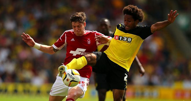 Ikechi Anya: Rounded off Watford's prolific goalscoring