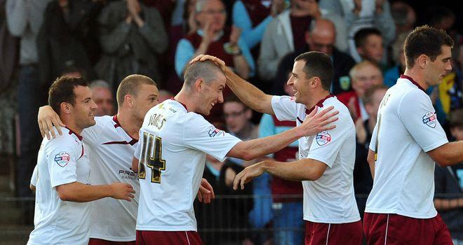 David Jones: Congratulated on goal at York