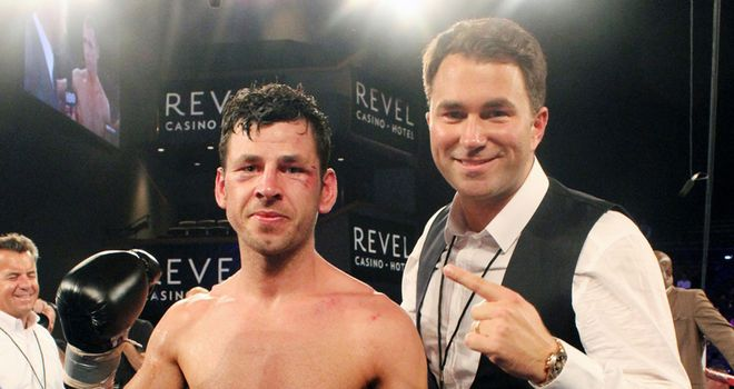 Darren Barker could be set up for life after his victory over Daniel Geale