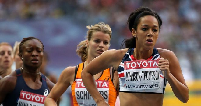 Katarina Johnson-Thompson: won the event by 41 points