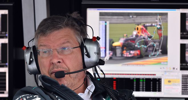 Ross Brawn: Planning on being at Mercedes next year