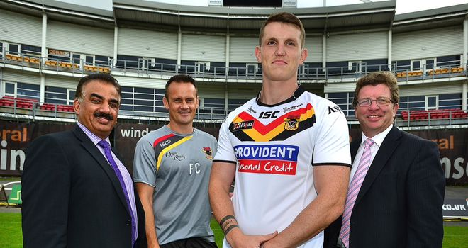 Lee Gaskell: Joining the Bradford Bulls on a two-year contract from the 2014 Super League season