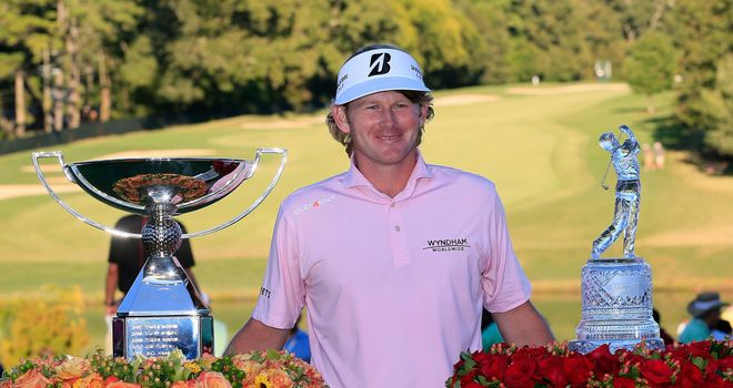 Brandt Snedeker wins the 2012 Tour Championship and the FedEx Cup at East Lake Golf Club in Atlanta.