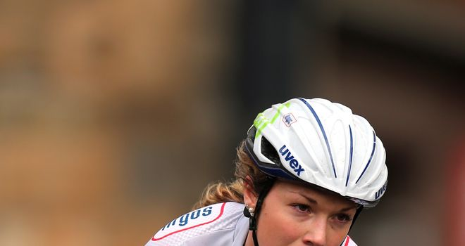 Lucy Garner: Recorded her first senior race win in China earlier in the year