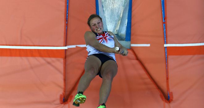 Holly Bleasdale: Won in Glasgow thanks to a season's best