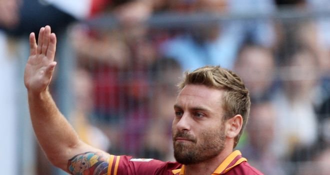 Daniele De Rossi: No regrets at staying at Roma despite other offers