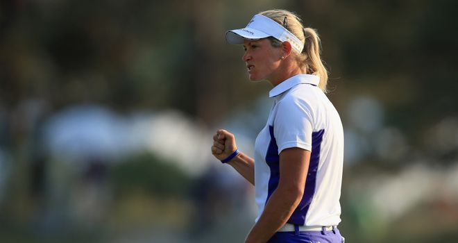 Suzann Pettersen: Player of the day