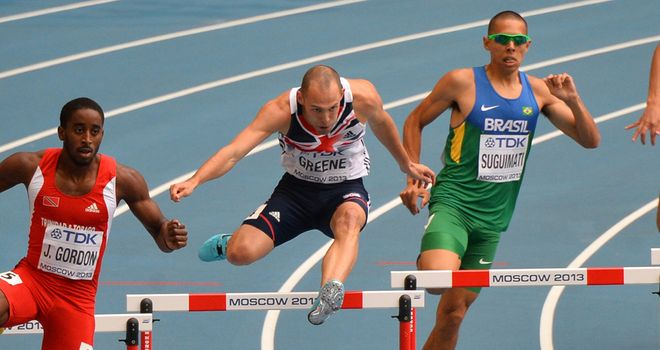 Dai Greene: Hoping for better after slow start to defence of 400m hurdles title