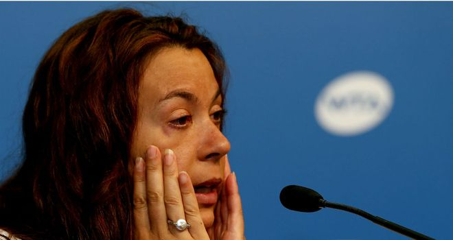 Marion Bartoli: Announces her retirement