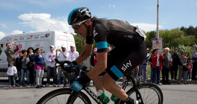 Pate: Happy in Team Sky colours