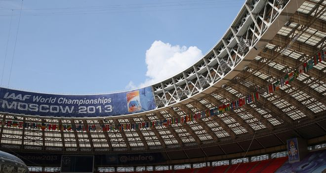 Luzhniki Stadium: Has reduced in capacity for the World Championships