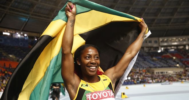 Shelley-Ann Fraser-Pryce is in line for top IAAF honour