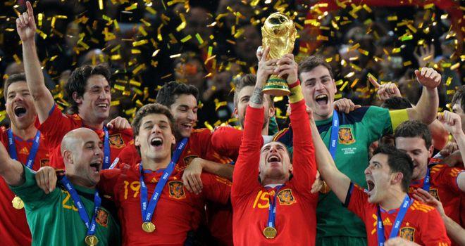 Spain: Celebrate World Cup success in 2010