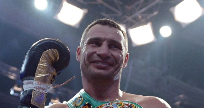 Vitali Klitschko: Has vacated his WBC heavyweight title to focus on career as politician
