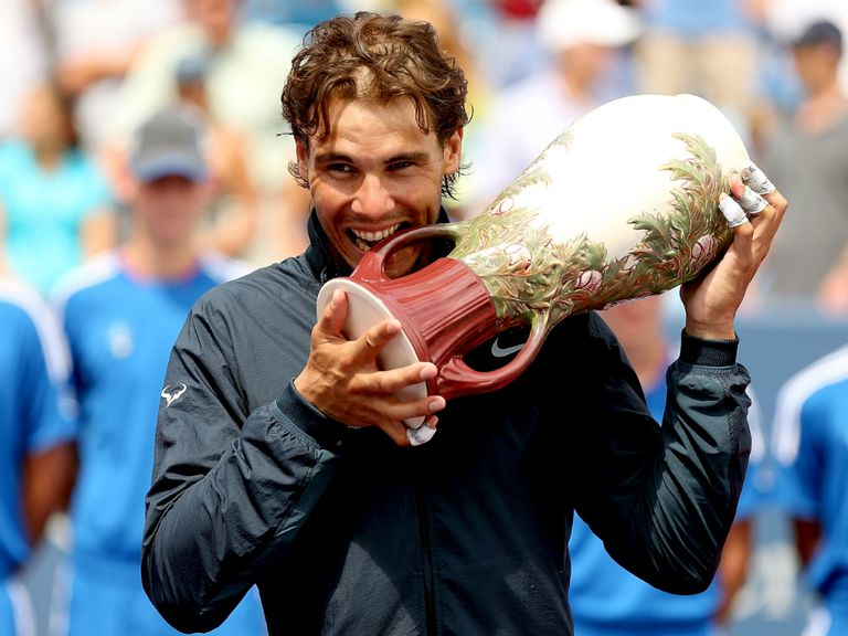 Rafael Nadal: Back-to-back titles for Nadal in Montreal and Cincinnati